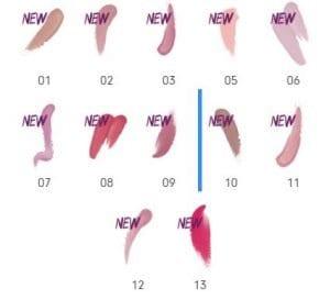 sheer and shine lipstick colors essence cosmetics