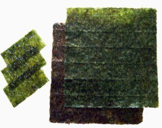 sheets of nori seaweed