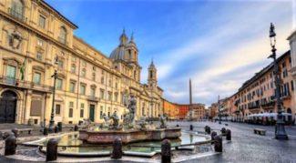 the amazing Piazza Navona