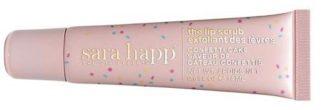 sara happy lip scrub