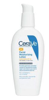 Cerave AM Moisture lotion stock photo moisture skincare article
