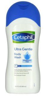 cetaphil ultra gentle body wash stock photo moisture skincare article