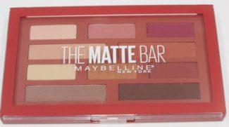 maybellne matte bar palette stock photo