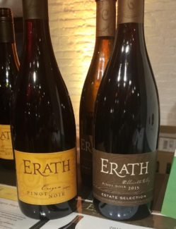 Erath wine from Oregon