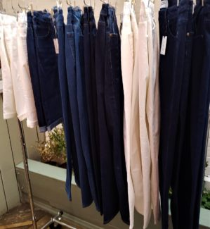 jeans at the measure & made event photo by alison blackman