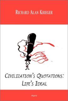 Civilization's Quotations: Life's Ideal by algora publishing
