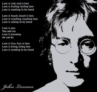 john lennon cover real love music song valentines day